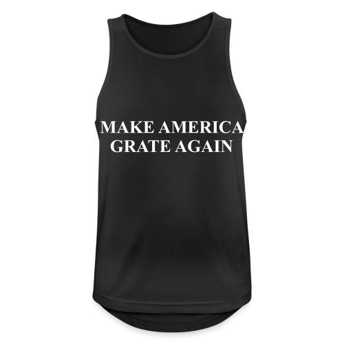 Make America Grate Again - Men's Breathable Tank Top