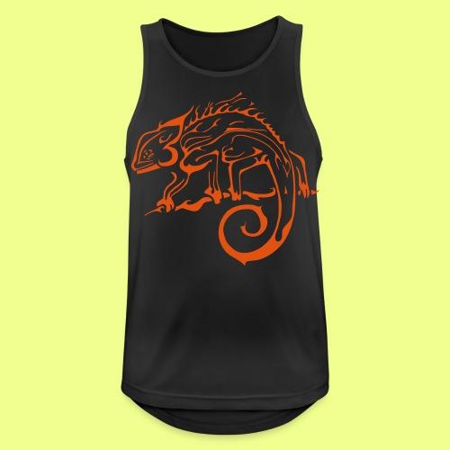 iguana - Camiseta sin mangas hombre transpirable