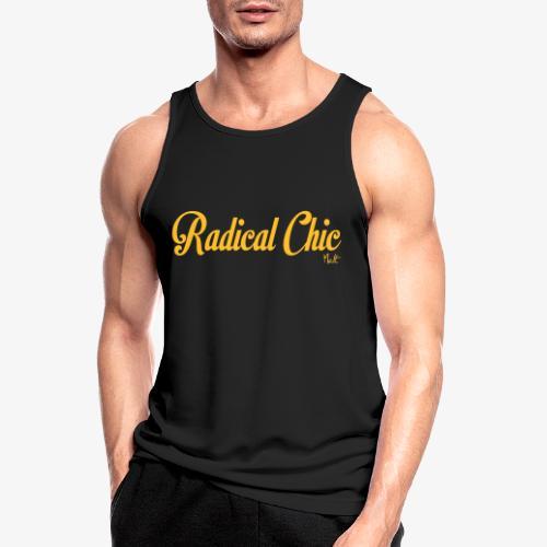 radical chic - Canotta da uomo traspirante
