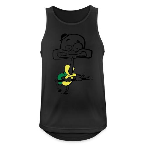 Stepp-Schildkröte - Männer Tank Top atmungsaktiv