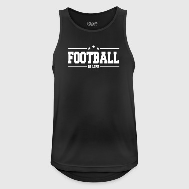 Football is life I - Men's Breathable Tank Top