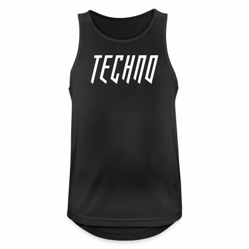Techno_2019_V6 - Männer Tank Top atmungsaktiv