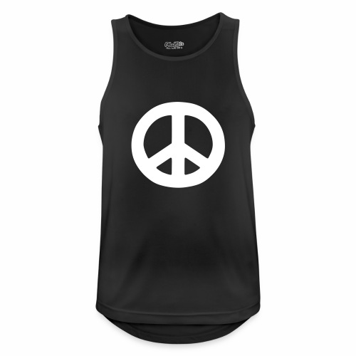 Peace - Men's Breathable Tank Top