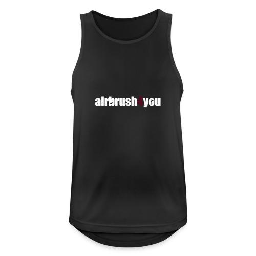 Airbrush - Männer Tank Top atmungsaktiv