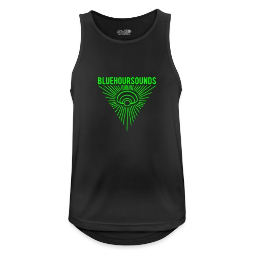 New Blue Hour Sounds logo triangle - Men's Breathable Tank Top