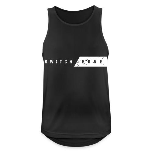 Switchbone_white - Mannen tanktop ademend