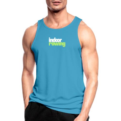 indoor rowing logo 2c - Men's Breathable Tank Top