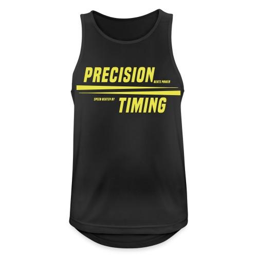 PRECISION & TIMING - Herre tanktop åndbar