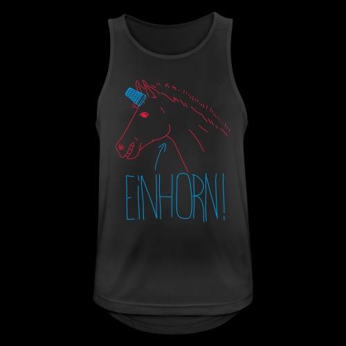 Einhorn - Männer Tank Top atmungsaktiv