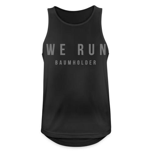 WE RUN BAUMHOLDER T-Shirt - Männer Tank Top atmungsaktiv