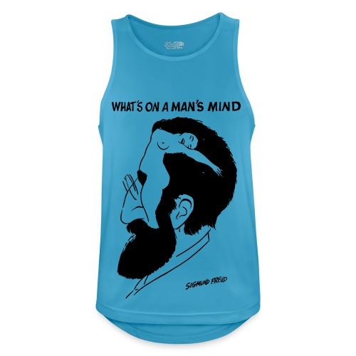 Sigmund Freud - Men's Breathable Tank Top