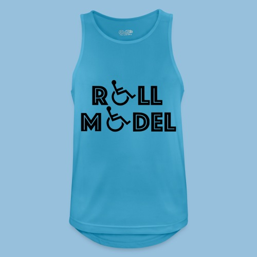 RollModel - Mannen tanktop ademend