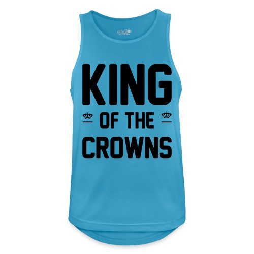 King of the crowns - Mannen tanktop ademend