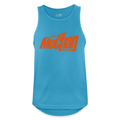 MoChan Logo Persp - Men's Breathable Tank Top
