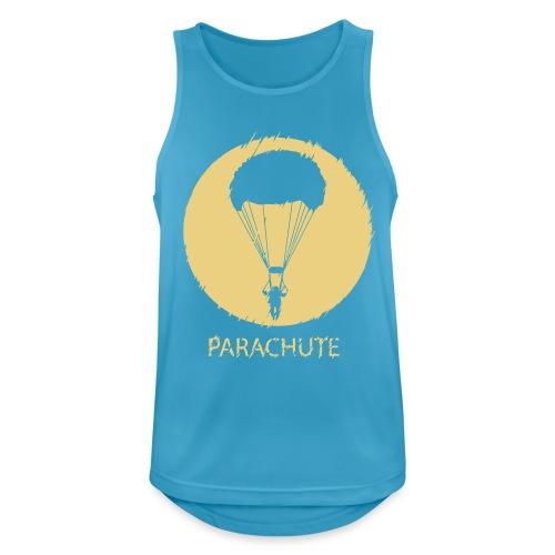 Parachute V2 Glitch - Männer Tank Top atmungsaktiv