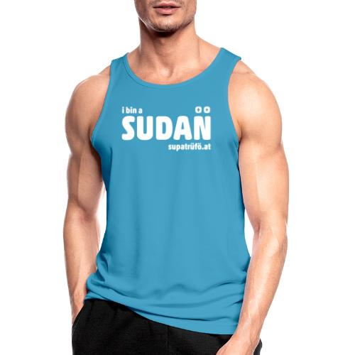 supatrüfö SUDAN - Männer Tank Top atmungsaktiv