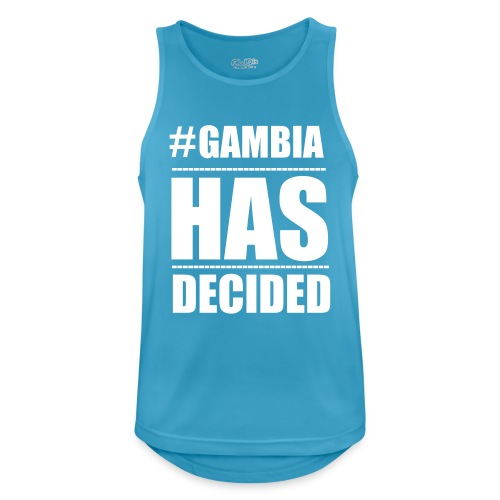 GAMBIA_HAS_DECIDED - Men's Breathable Tank Top