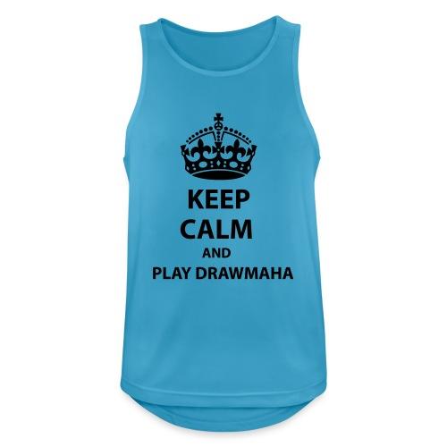 Play Drawmaha - Andningsaktiv tanktopp herr