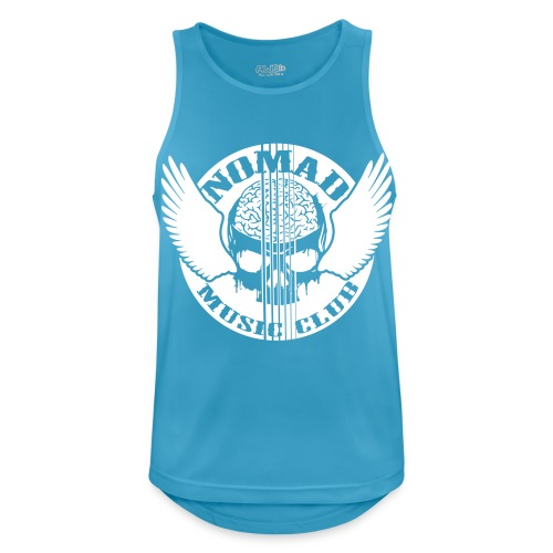 front print - Men's Breathable Tank Top