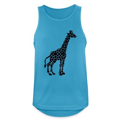 Giraffe (black) - Miesten tekninen tankkitoppi