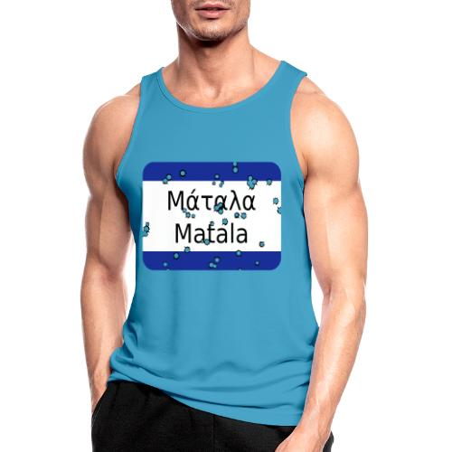 mg matala - Männer Tank Top atmungsaktiv