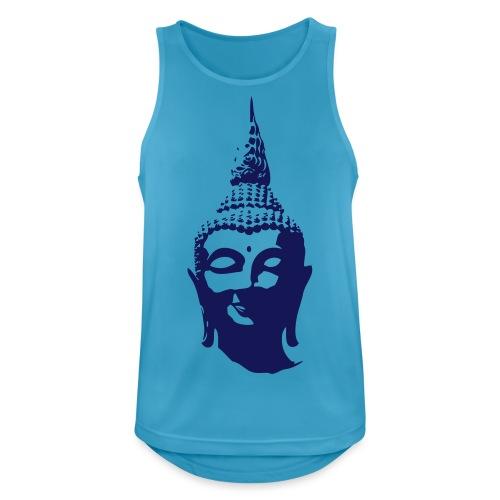Boeddha hoofd - Mannen tanktop ademend actief