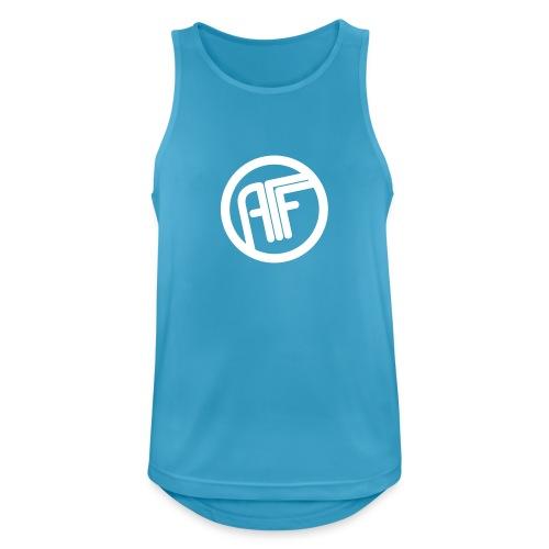 AFF Logo - Männer Tank Top atmungsaktiv
