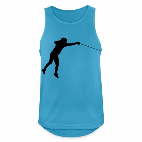 Jumping Fencer - Männer Tank Top atmungsaktiv