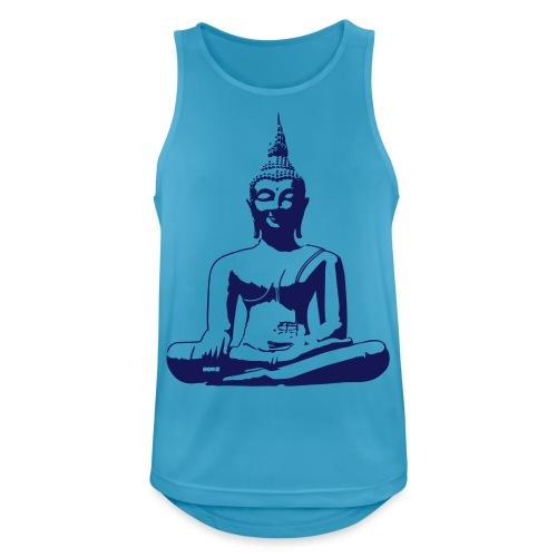 Boeddha beeld - Mannen tanktop ademend actief