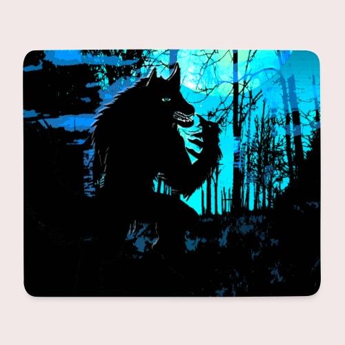 Werwolf in Moonlight - Mousepad (Querformat)