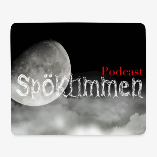 Spöktimmen brett motiv - Musmatta (liggande format)