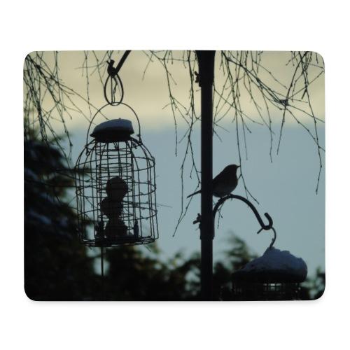 A winter bird - Mouse Pad (horizontal)