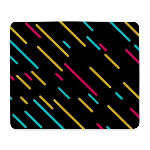 shooting stars (colorful) - Mousepad (Querformat)