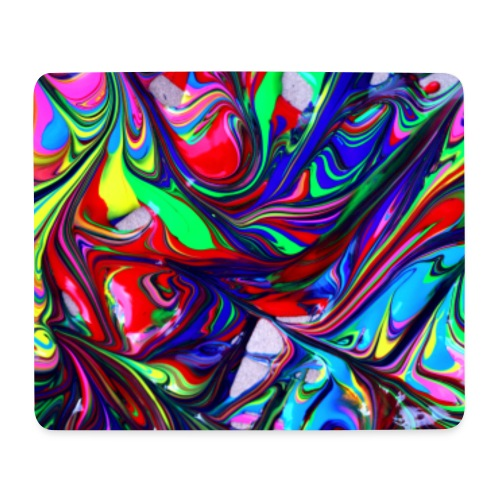 Abstract Art multi-color - Mousepad (Querformat)