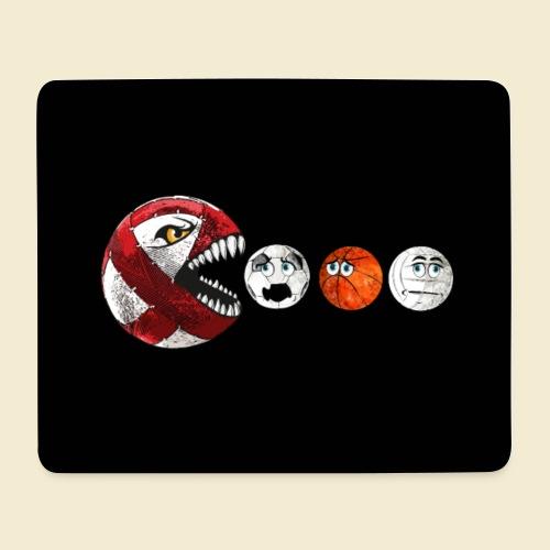 Radball | Red Man Maske - Mousepad (Querformat)