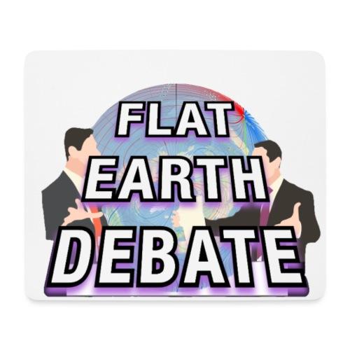 Flat Earth Debate - Mouse Pad (horizontal)