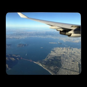 Golden Gate Approach - Mouse Pad (horizontal)