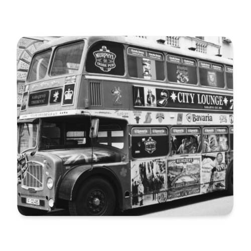 London Bus - Mousepad (Querformat)