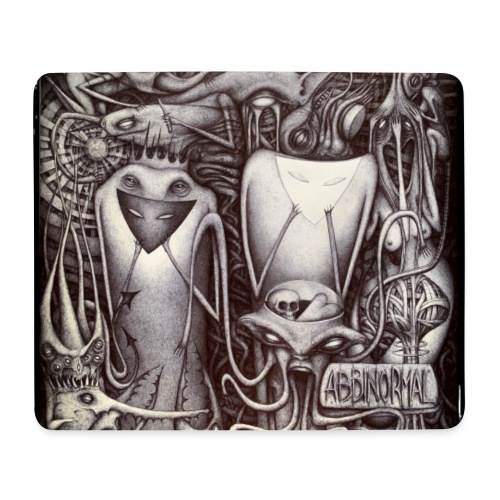 Abbinormal.....GrindCore Metal Band - Tappetino per mouse (orizzontale)