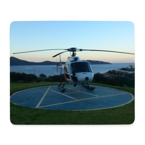 AS350 Sunset Elounda - Mouse Pad (horizontal)