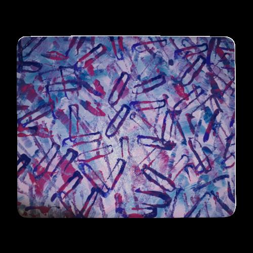 Pinky Pop Mouse Mat - Mouse Pad (horizontal)