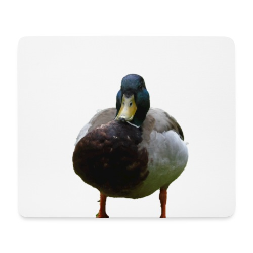 A lone duck - Mouse Pad (horizontal)