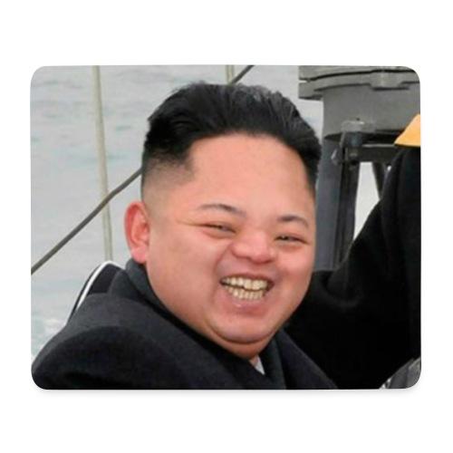 Kim Jong A sloth facing - Mouse Pad (horizontal)