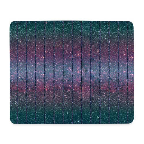 Burlesque drag queen glitter pattern blue purple green - Mouse Pad (horizontal)
