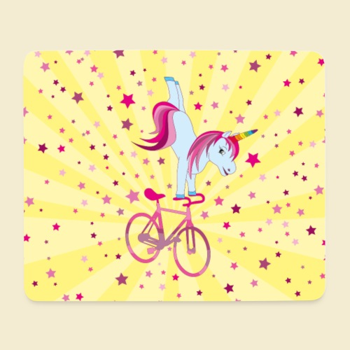 Kunstrad | Einhorn Handstand Handyhülle - Mousepad (Querformat)