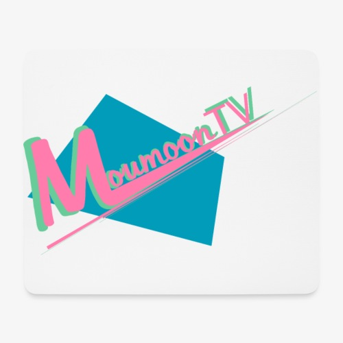 MoumoonTV logo - Tapis de souris (format paysage)