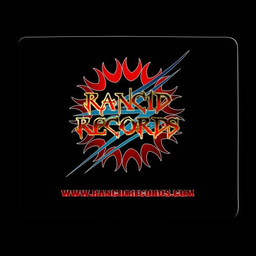 Records Logo Transparent with website png - Mouse Pad (horizontal)