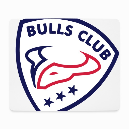 Logo BULLS CLUB - Mousepad (Querformat)