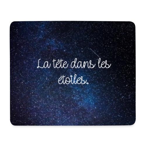 Fond étoiles avec citation - Tapis de souris (format paysage)