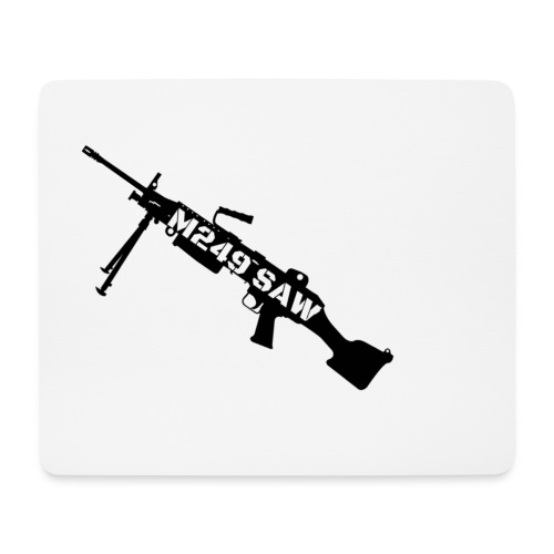 M249 SAW light machinegun design - Muismatje (landscape)